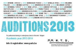 PARTS auditions 2013